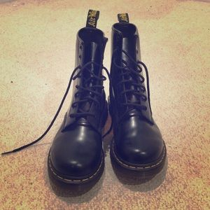 f4684b623 Dr. Martens Shoes | Iso Dr Martens Langston Petrol Combat Boots ...